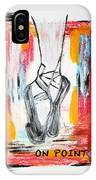 On Pointe IPhone X Case