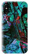 On The Blues Highway With Leadbelly And Muddy Waters IPhone Case