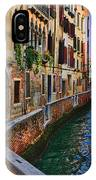On The Canal-venice IPhone Case