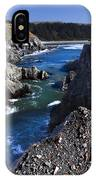 On The Edge Of The Blue Lagoon IPhone Case