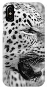 On The Hunt Bw IPhone Case