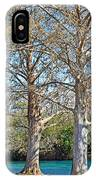 On The San Marcos River Texas IPhone Case