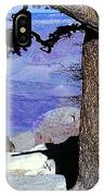 On The West Rim Of The Grand Canyon IPhone Case