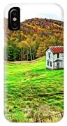 Once Upon A Mountainside 2 - Paint IPhone Case