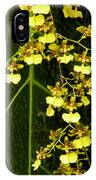 Oncidium Orchids IPhone Case