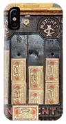 One Cent Matches IPhone Case