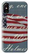 One Nation IPhone X Case