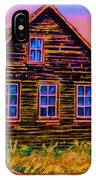 One Room Schoolhouse IPhone Case