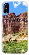 Onward And Upward At The Superstition Mountains Of Arizona IPhone Case