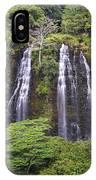 Opaekaa Falls - Kauai IPhone Case
