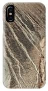 open pit mine Kennecott, copper, gold and silver mine operation IPhone Case
