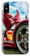Open Sesame Red - Lamborghini Diablo  IPhone Case