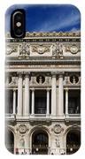 Opera Garnier. Paris. France IPhone Case
