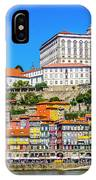 Oporto Riverfront IPhone Case