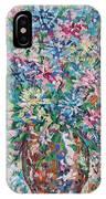 Opulent Bouquet. IPhone Case