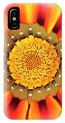 Orange African Daisy IPhone Case