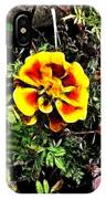 Orange And Yellow Flower IPhone Case