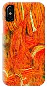Orange Art IPhone Case by Colette V Hera Guggenheim