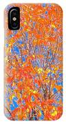 Orange Autumn Impression IPhone Case
