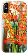 Orange Bloom IPhone Case