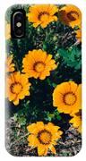 Orange Daisies--film Image IPhone Case