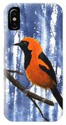 Orange-headed Oriole IPhone Case