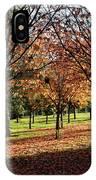 Orange Leaves IPhone Case