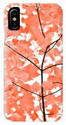 Orange Leaves Melody  IPhone Case