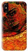 Orange Man IPhone Case