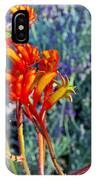 Yellow-orange Kangaroo Paws At Pilgrim Place In Claremont-california- IPhone Case