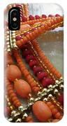 Orange Necklace IPhone Case