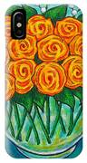 Orange Passion IPhone Case