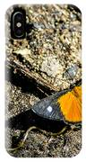 Orange Patch IPhone Case