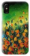 Orange Poppies 459080 IPhone Case