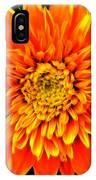 Orange Star Flower IPhone Case