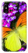 Orange Yellow Wings IPhone Case