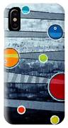 Orbs On Planes #3 IPhone Case