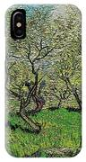 Orchard In Blossom IPhone Case