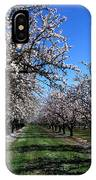 Orchard Trees Blossoming IPhone Case