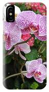 Orchid 6 IPhone Case