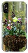 Orchid Basket IPhone Case