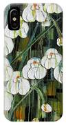 Orchid Dance IPhone Case