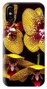 Orchid In Space IPhone Case