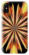 Orchid Kaleidoscope 10 IPhone Case