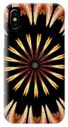 Orchid Kaleidoscope 3 IPhone Case