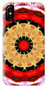 Orchid Kaleidoscope 6 IPhone Case