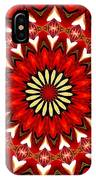 Orchid Kaleidoscope 9 IPhone Case