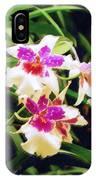 Orchids 1 IPhone Case
