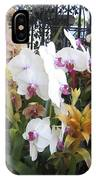 Orchids And Iron IPhone Case