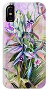 Orchids- Botanicals IPhone Case